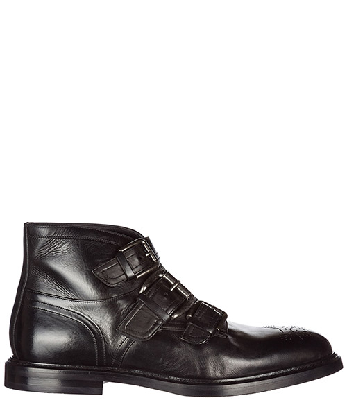 Scarpe polacchine Dolce&Gabbana A60110AI34580999 nero