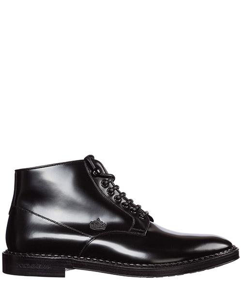 Combat boots Dolce&Gabbana Marsala A60231AA38480999 nero