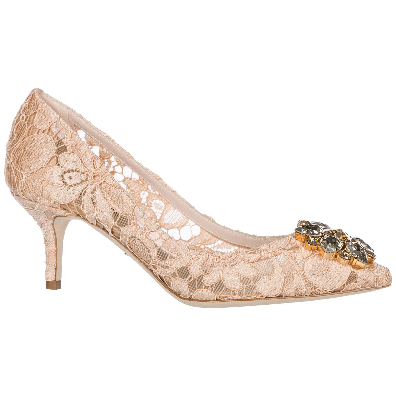 CD0066AL19880240 Bellucci amp;Gabbana Escarpin rosa Dolce YwFqCPx