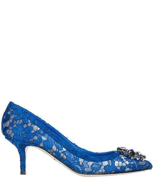 Pump Dolce&Gabbana Bellucci CD0066AL19880650 blu