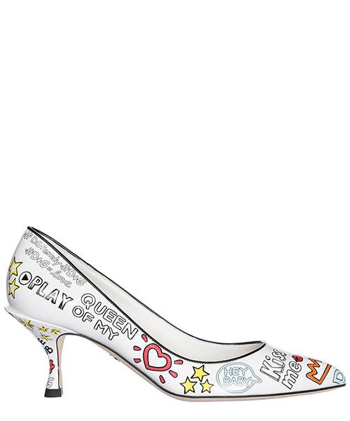 Pumps Dolce&Gabbana CD1019AH946HWP52 bianco
