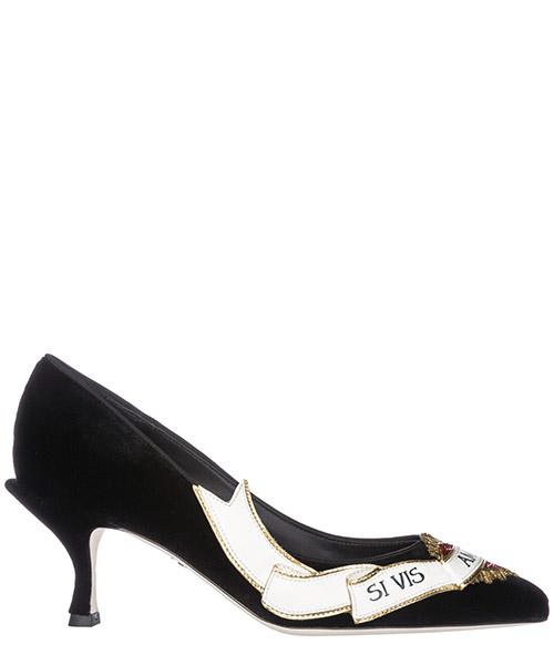 Pump Dolce&Gabbana Lori CD1153AV7658B956 nero