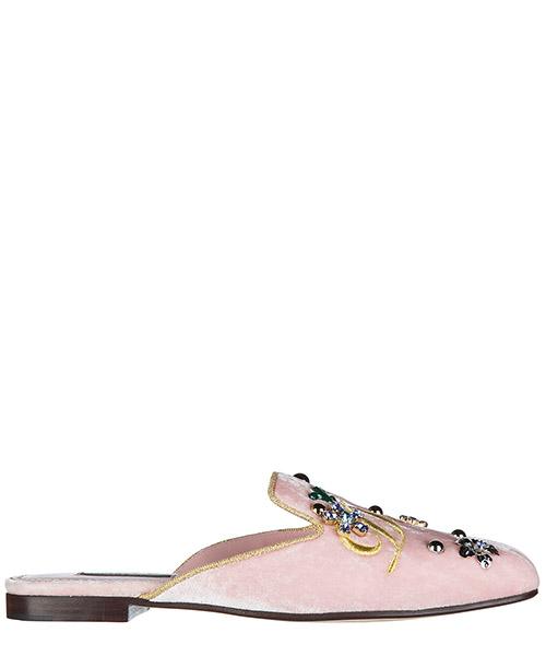 Sabot Dolce&Gabbana CI0007AG9488R464 rosa carne / oro