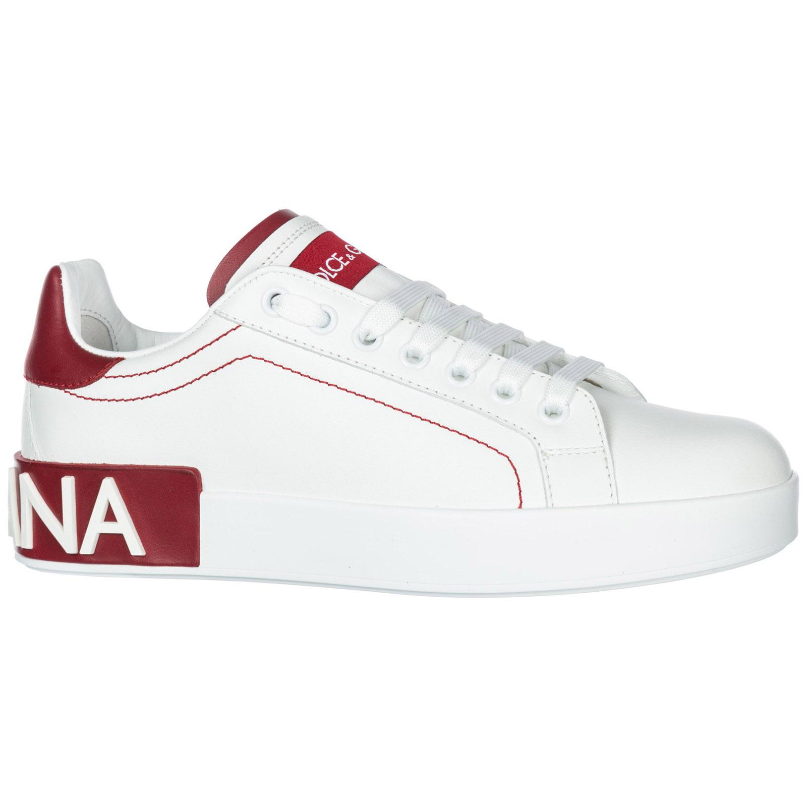 Scarpe sneakers donna in pelle portofino