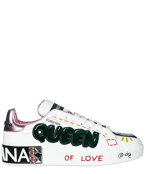 Sneakers Dolce&Gabbana Portofino CK1544AV258HWT77 bianco