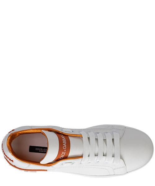 Damenschuhe turnschuhe damen leder schuhe sneakers portofino secondary image