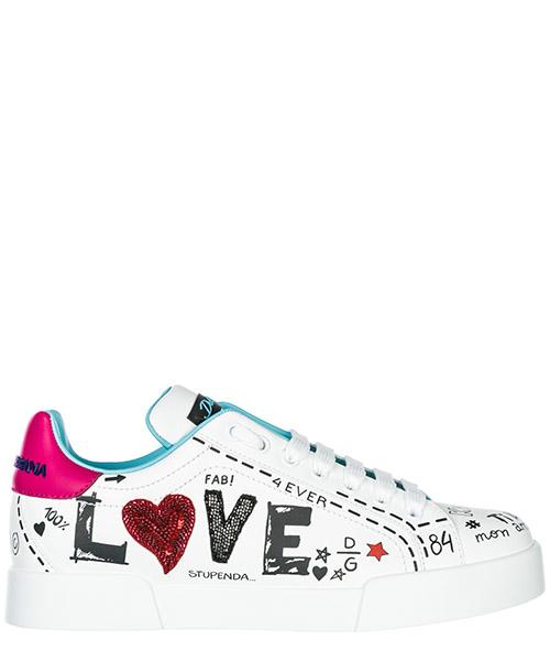 Sneakers Dolce&Gabbana Portofino CK1545AU8868E057 bianco
