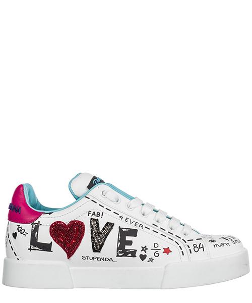 Sneakers Dolce&Gabbana Portofino CK1545AU8668E057 bianco