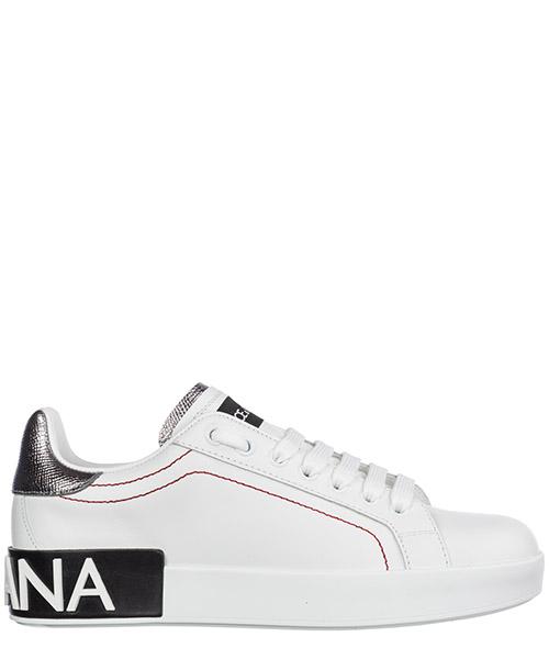 Sneakers Dolce&Gabbana Portofino CK1587AH5278B441 bianco / argento