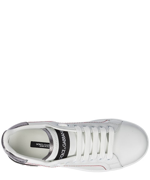 Women's shoes leather trainers sneakers portofino secondary image