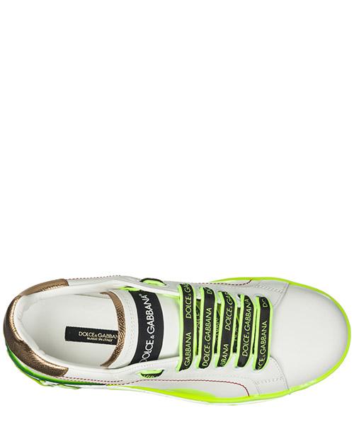 7d5f2539540e7e ... Scarpe sneakers donna in pelle portofino secondary image