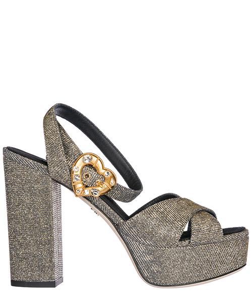 Sandali Dolce&Gabbana CR0567AH9308T656 oro / argento