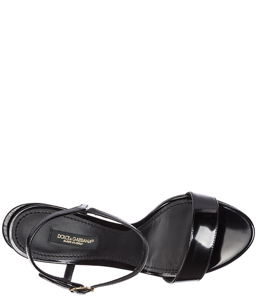 Women's leather heel sandals keira secondary image