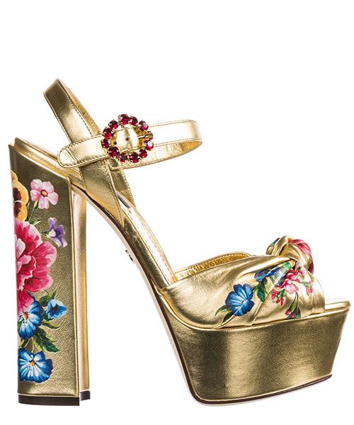 Sandals Dolce&Gabbana Keira CR0793AK931H0AA6 oro