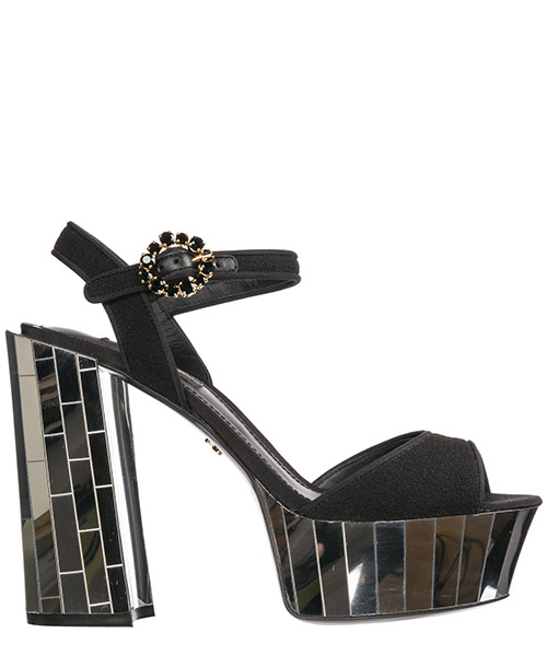 Sandalen Dolce&Gabbana CR0809AK78680999 nero