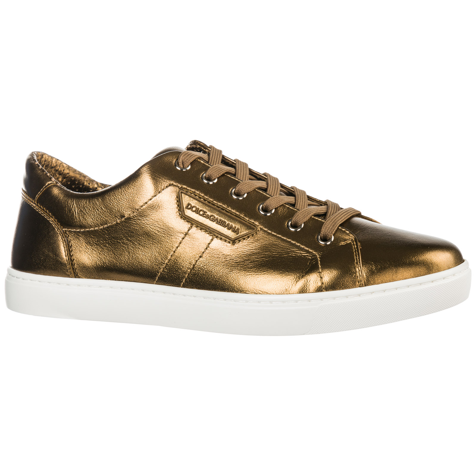 Men's shoes leather trainers sneakers mordorè