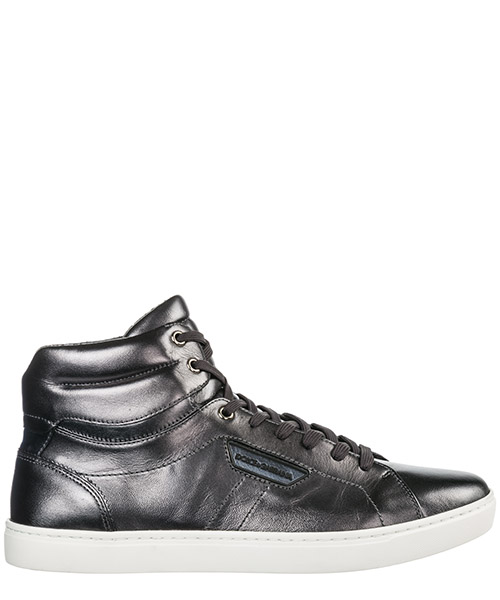 High top sneakers Dolce&Gabbana Mordorè CS1402AC95589859 peltro nero