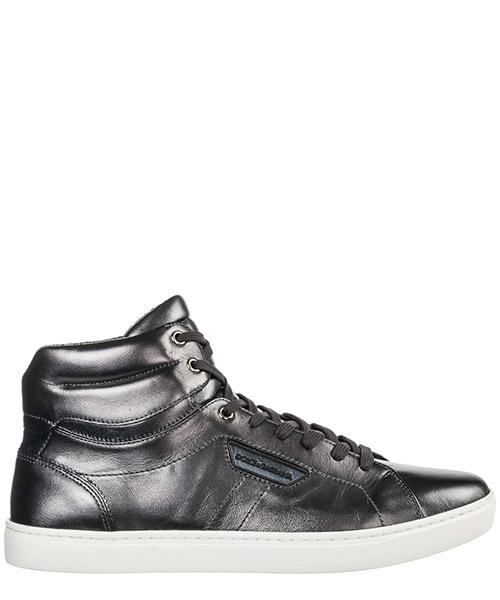 Hohe Turnschuhe Dolce&Gabbana Mordorè CS1402AC95589859 peltro nero