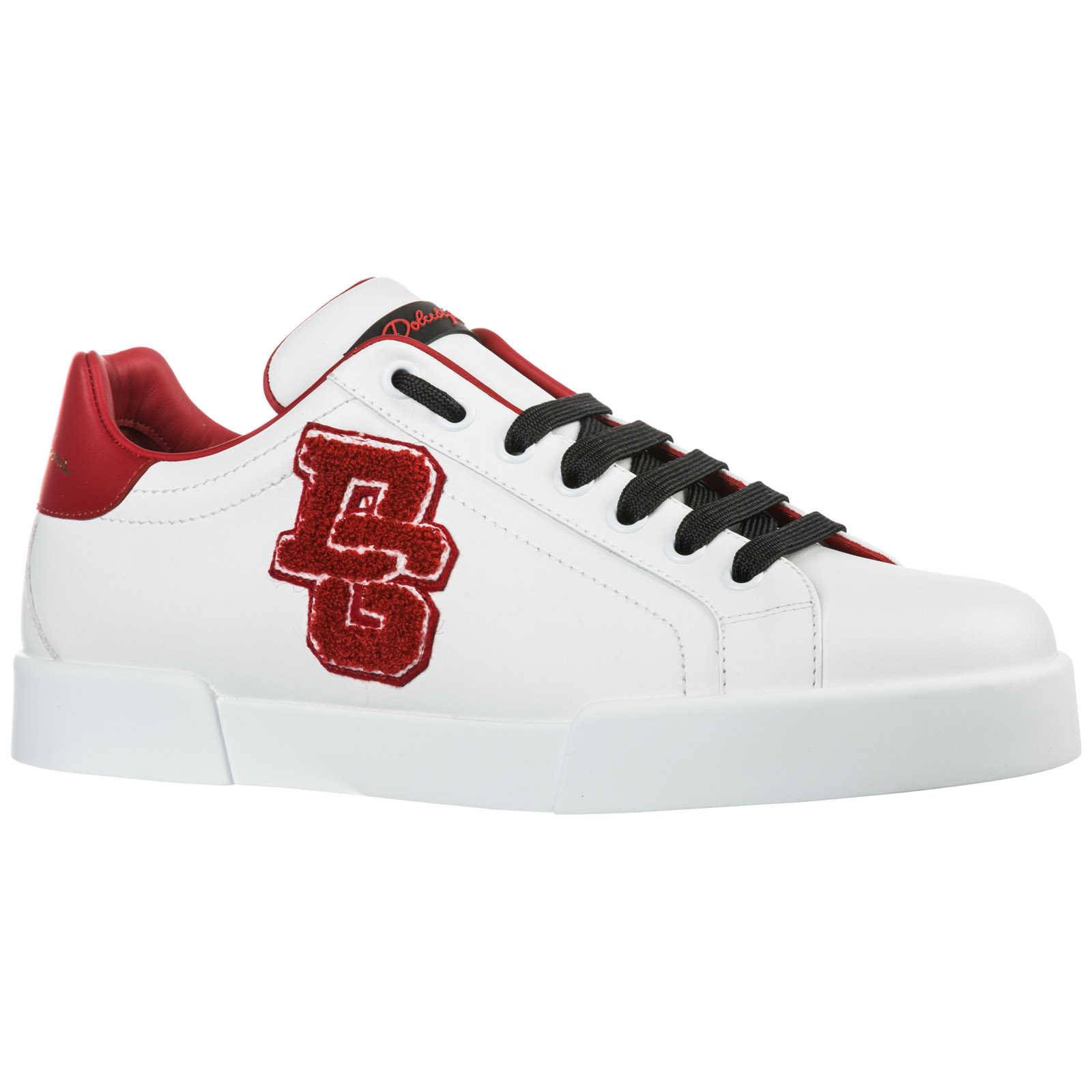 Men's shoes leather trainers sneakers portofino