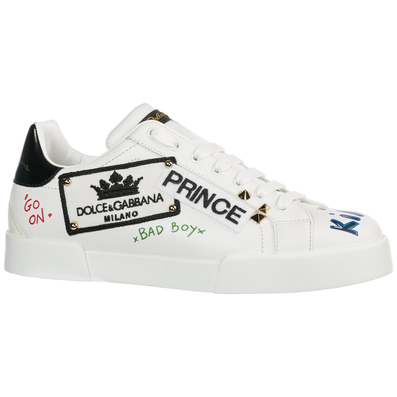 Sneakers Dolce Gabbana Portofino CS1558AV678HWF57 bianco  4541c3d2711