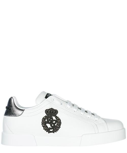 Sneakers Dolce&Gabbana Portofino CS1538AH1368B441 bianco / argento