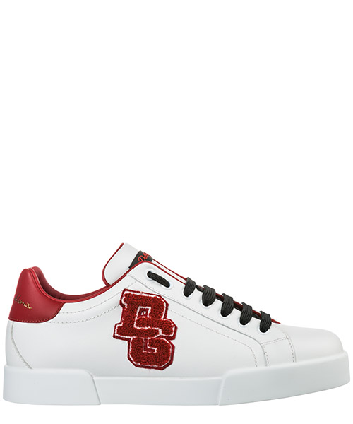 Turnschuhe Dolce&Gabbana Portofino CS155830AH50489926 bianco / rosso