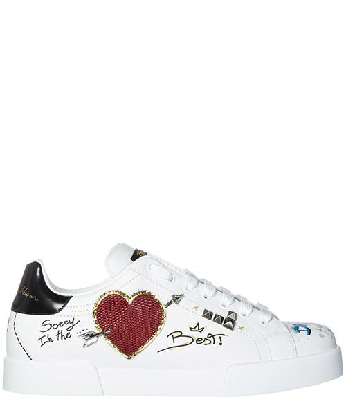 Sneakers Dolce&Gabbana Portofino CS1558AV679HWF57 bianco