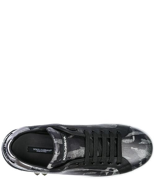 Zapatos zapatillas de deporte hombres en piel portofino secondary image