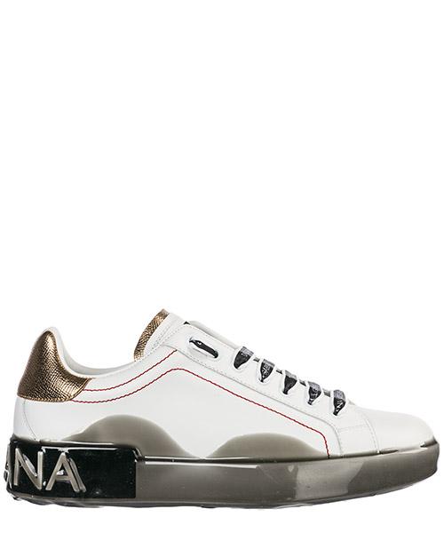Sneakers Dolce&Gabbana Portofino CS1587AK23689662 bianco / oro