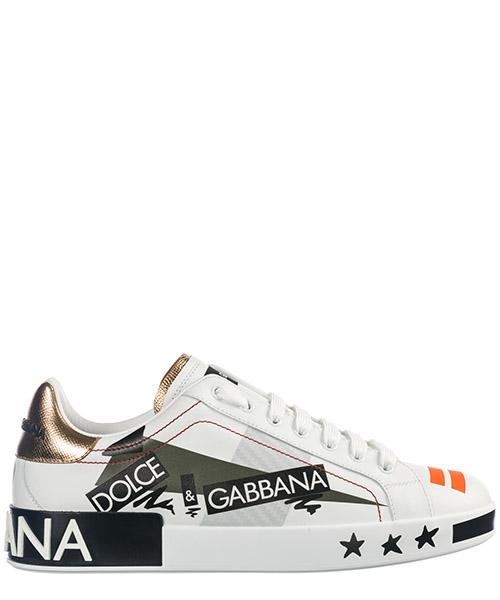 Men's shoes leather trainers sneakers portofino