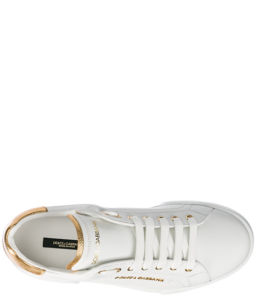Chaussures baskets sneakers homme en cuir portofino light secondary image