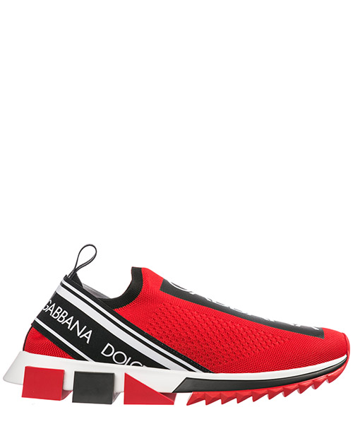 Slip-on shoes Dolce&Gabbana sorrento CS1595 AH677 89873 rosso - nero