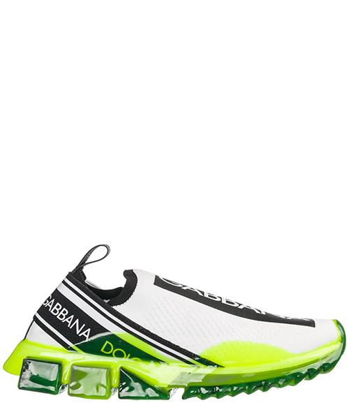 Sneakers Dolce&Gabbana Sorrento CS1595AK2358R154 bianco / giallo fluo