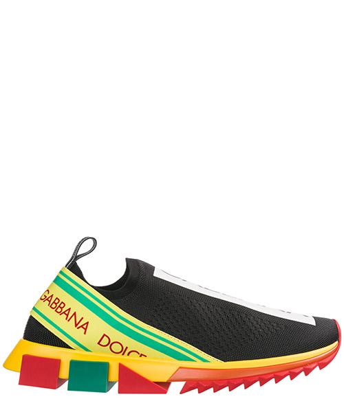 Zapatillas deportivas Dolce&Gabbana Sorrento CS1595AZ2928T589 nero/giallo