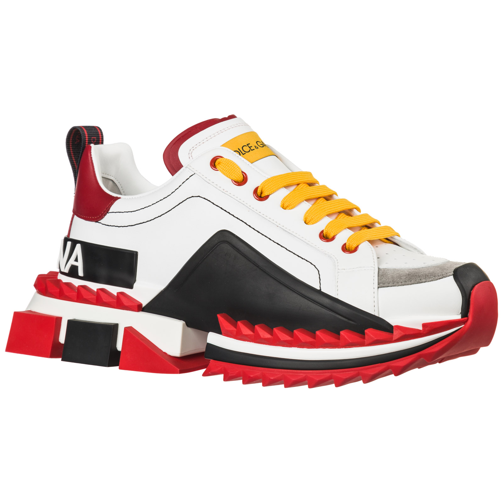 Men's shoes leather trainers sneakers super king