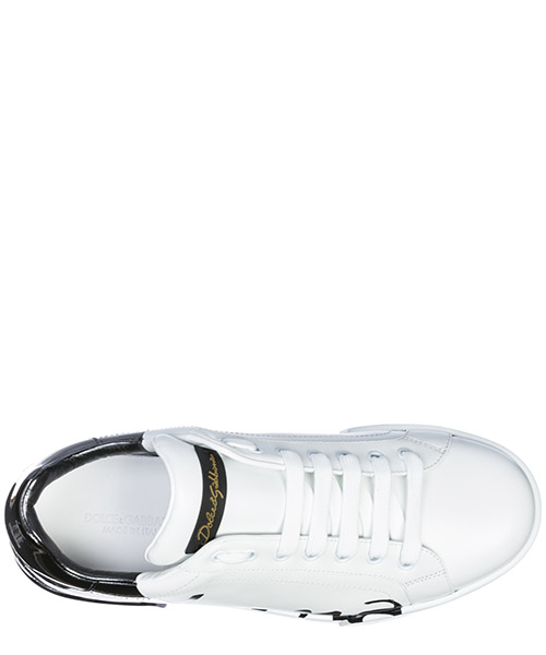 Chaussures baskets sneakers homme en cuir portofino secondary image