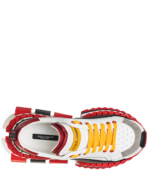 Chaussures baskets sneakers homme en cuir super king secondary image
