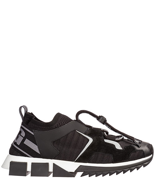 Sneakers Dolce&Gabbana Sorrento CS1718AA0968B969 nero / grigio