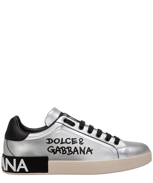Sneaker Dolce&Gabbana portofino cs1772aw151h12lx argento