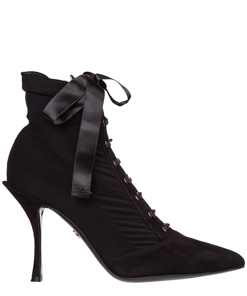 Heeled ankle boots Dolce&Gabbana ct0471ak88680999 nero