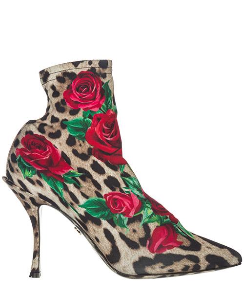 Stiefeletten mit Absatz Dolce&Gabbana Lori CT0523AZ481HKIRS marrone