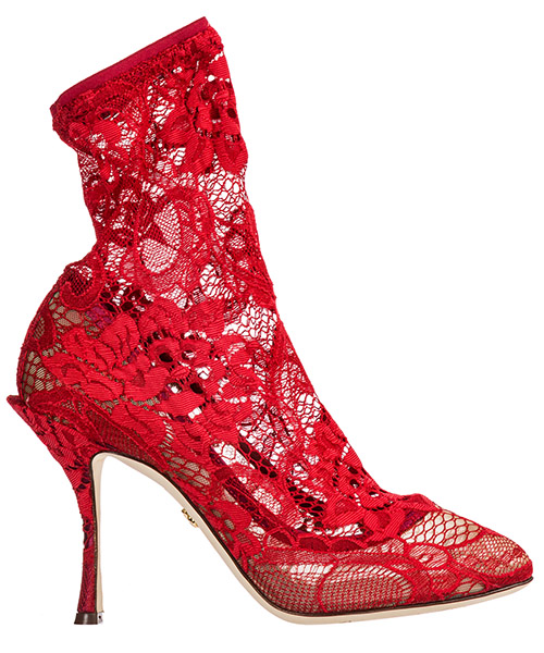 Heeled ankle boots Dolce&Gabbana CT0524AJ31580303 rosso