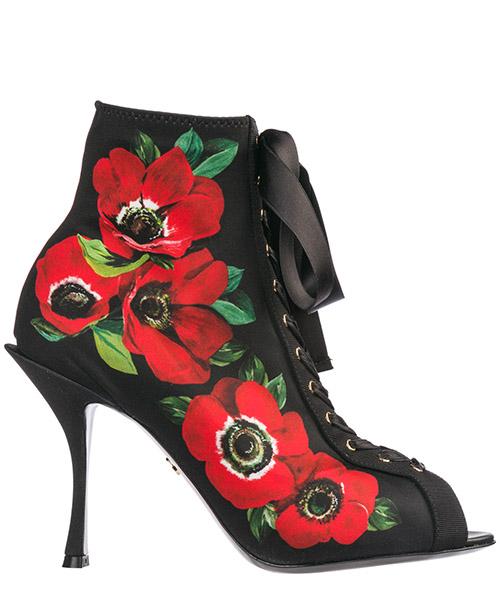 Stivaletti con tacco Dolce&Gabbana Bette CT0536AK717HNAA5 nero
