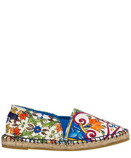 Espadrilles Dolce&Gabbana D00106AS009HW681 maiolica / giglio
