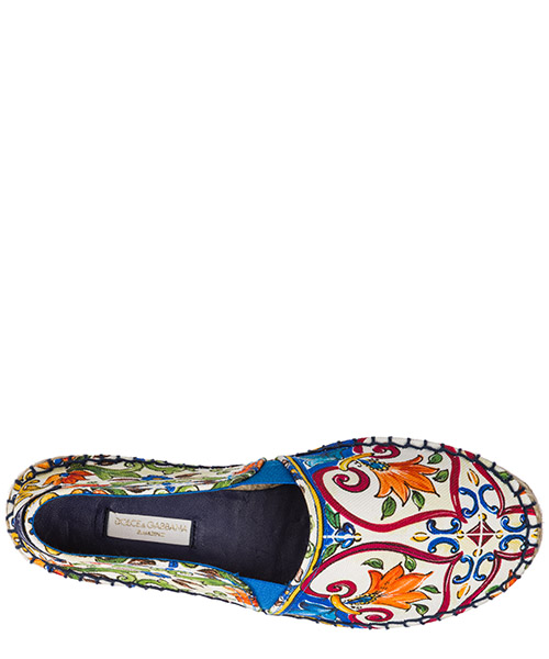 Chaussures filles espadrilles coton secondary image