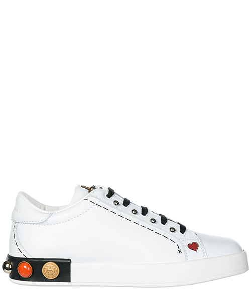 Sneakers Dolce&Gabbana D10656AH00689697 bianco / nero