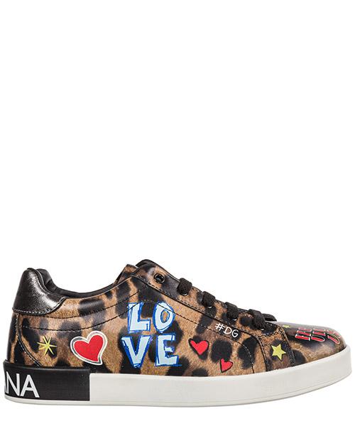 Sneakers Dolce&Gabbana D10656AV686HHT44 murales fondo leo
