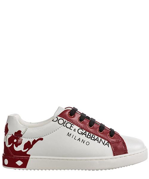 Basket Dolce&Gabbana DG KING DA0608AU61389926 bianco / rosso