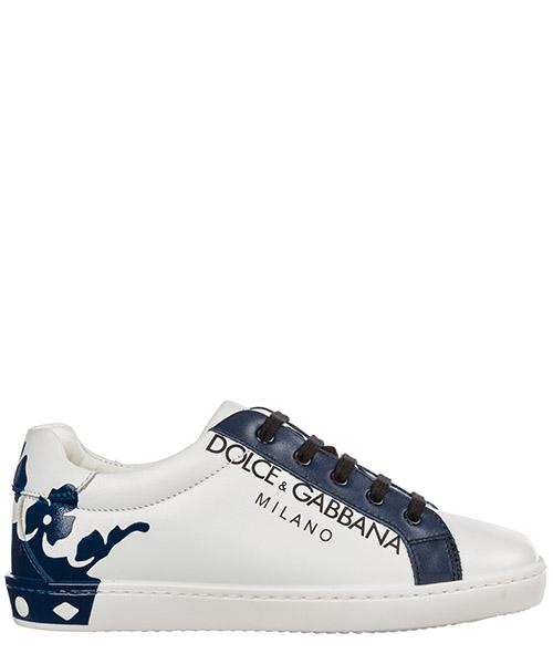 Basket Dolce&Gabbana DG KING DA0608AU61389951 bianco / blu
