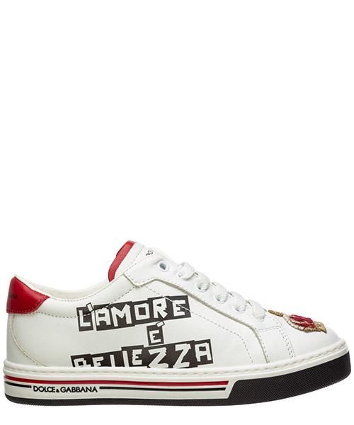 Sneakers Dolce&Gabbana dg king DA0637AI701HWS16 bianco